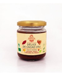 Délice de Cacao Cru Maca Lucuma Caroube BIO 190g