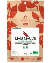 Maïs Mauve BIO - Rafle Broyée - 150g