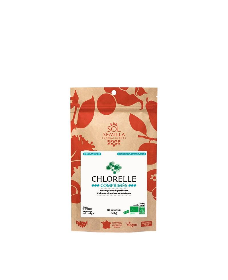 Chlorella : Organic tablets x120 60g