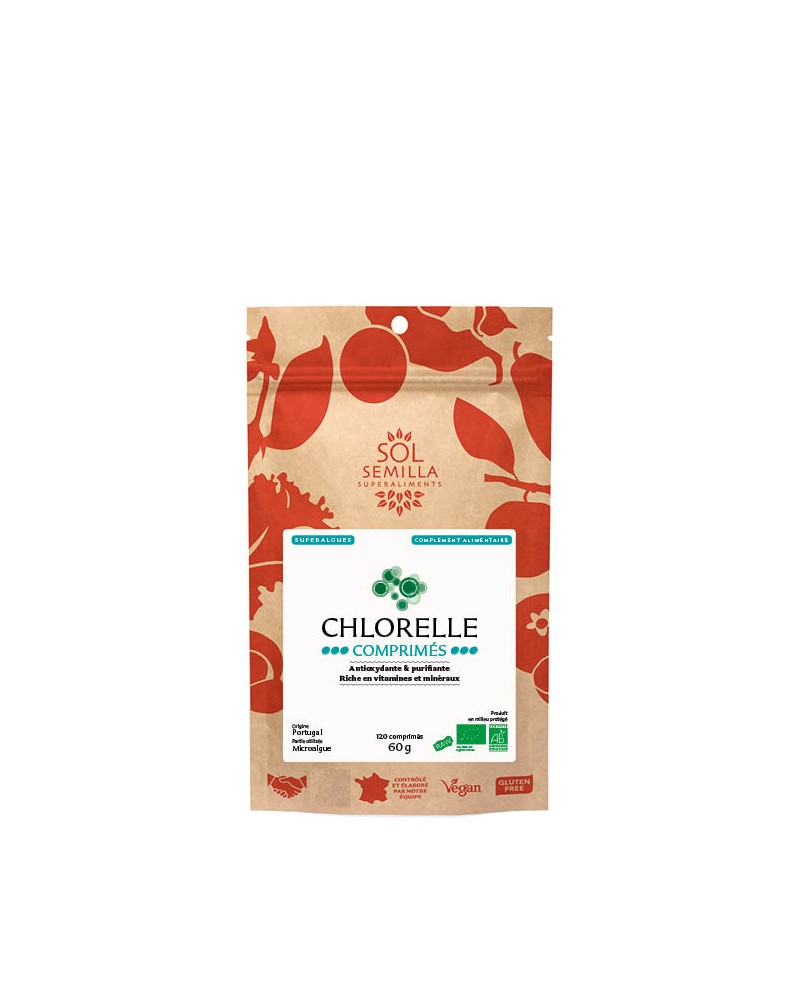 Chlorelle 120 comprimés 60g