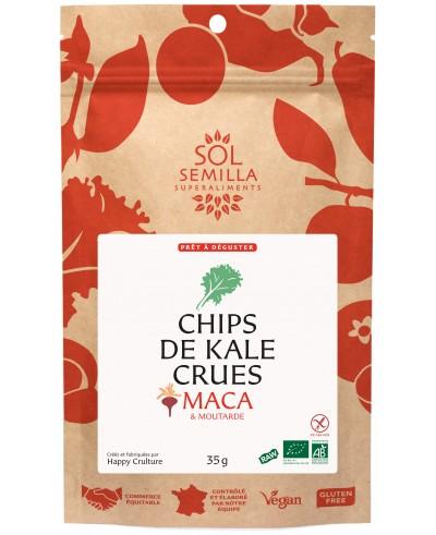 Chips de Kale Maca-Moutarde BIO