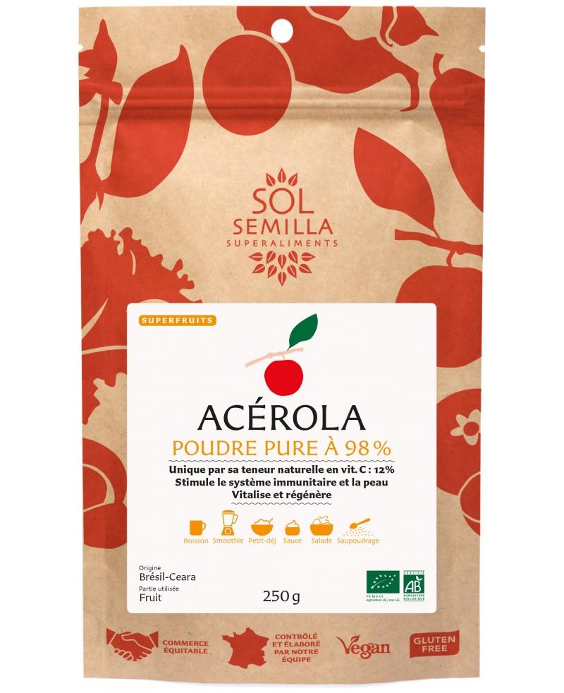 Acerola : Organic powder 250g