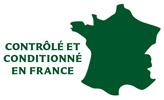Contrôlé et conditionné en France